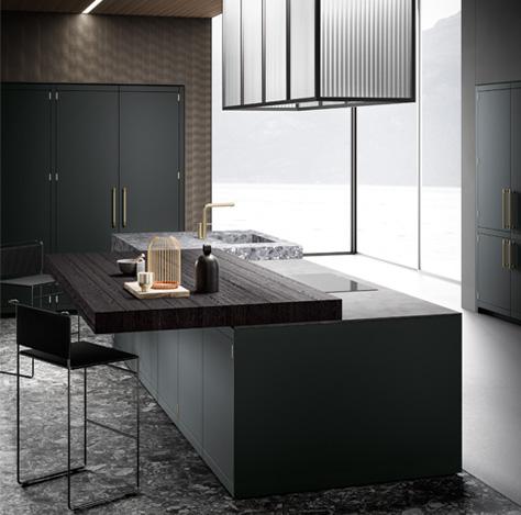 Cucine di design Made in Italy | Cucina Anuba | MITON Cucine