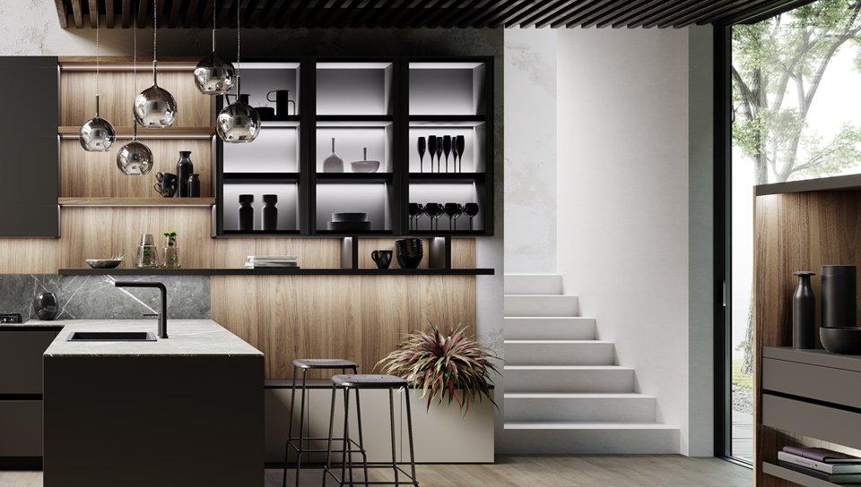 Vetrine Bellevue | Complementi Cucine | MITON Cucine