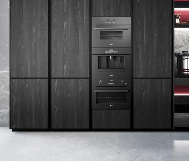 Cucina contemporanea rovere terranera | Anta Colonne - Amari | MITON Cucine