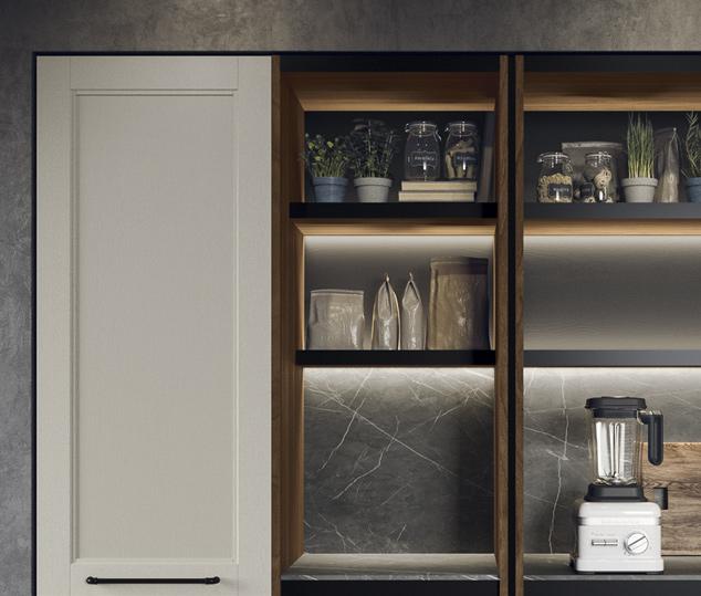 Cucina moderna in stile industrial | Anta Colonne - Talìa | MITON Cucine