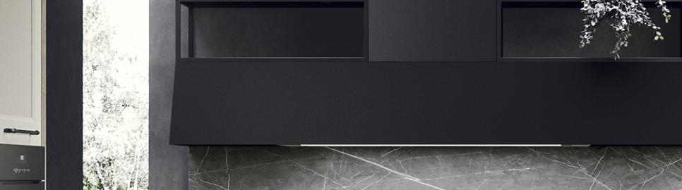 Cucina moderna in stile industrial | Cappa Talìa | MITON Cucine