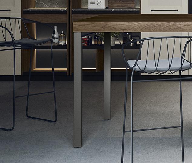 Cucina moderna in stile industrial | Gamba - Talìa | MITON Cucine