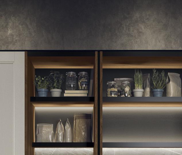 Cucina moderna in stile industrial | Sistema Waind - Talìa | MITON Cucine