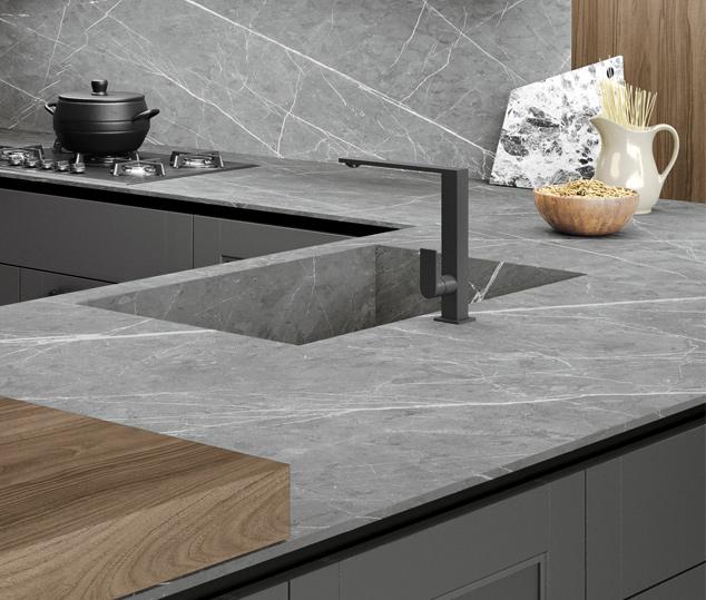 Cucina moderna in stile industrial | Worktop - Talìa | MITON Cucine