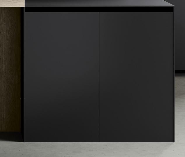 Cucina minimal in bilaminato legno rovere Nechinger | Anta Basi Tilo 2.0 | MITON Cucine