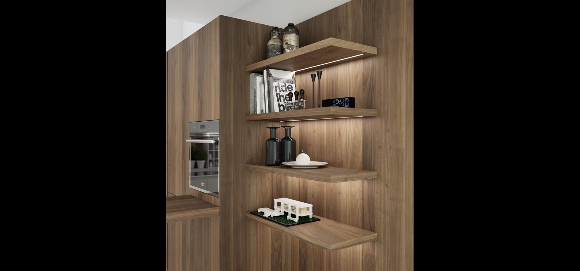 Cucina elegante e moderna in legno | Limha Wood | MITON Cucine