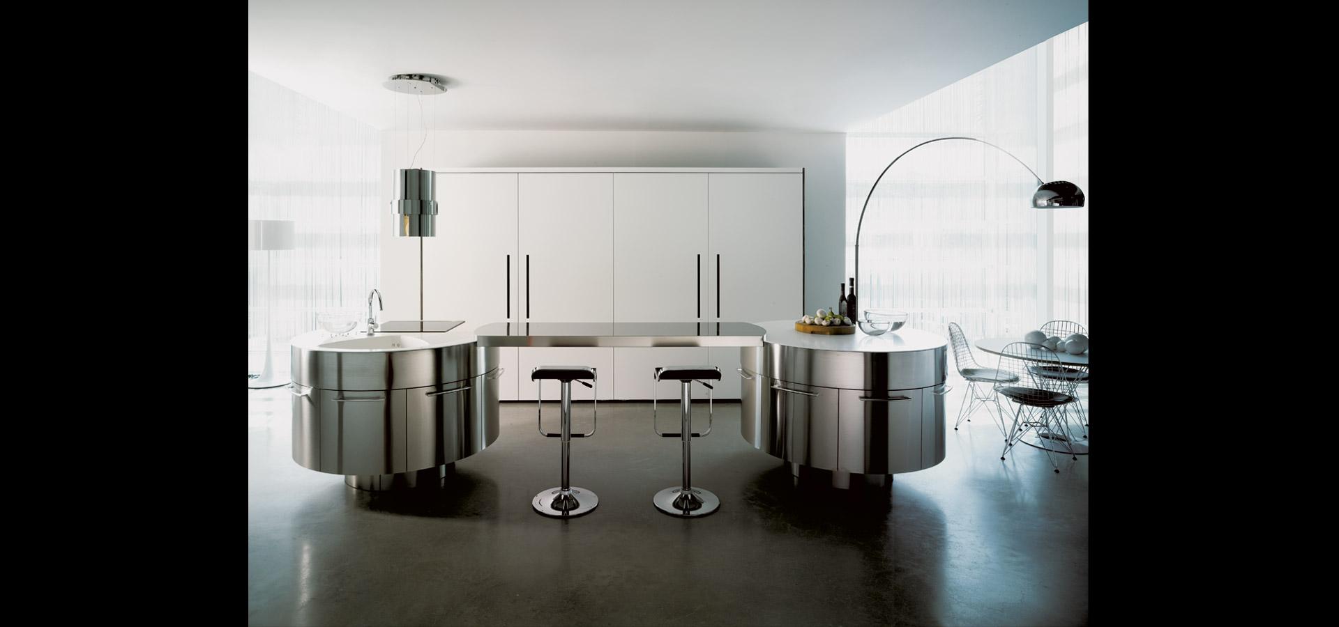 Cucina con isola girevole | Rondò | MITON Cucine