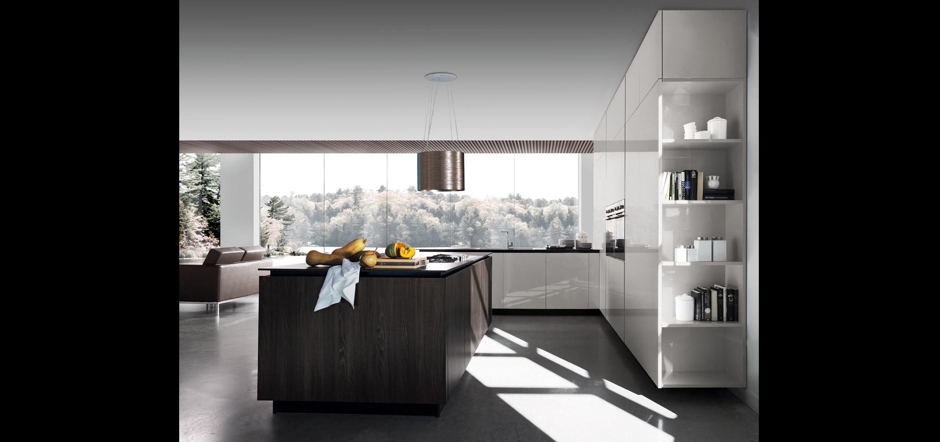 Cucina modulare contemporanea | Sincro Glossy | MITON Cucine