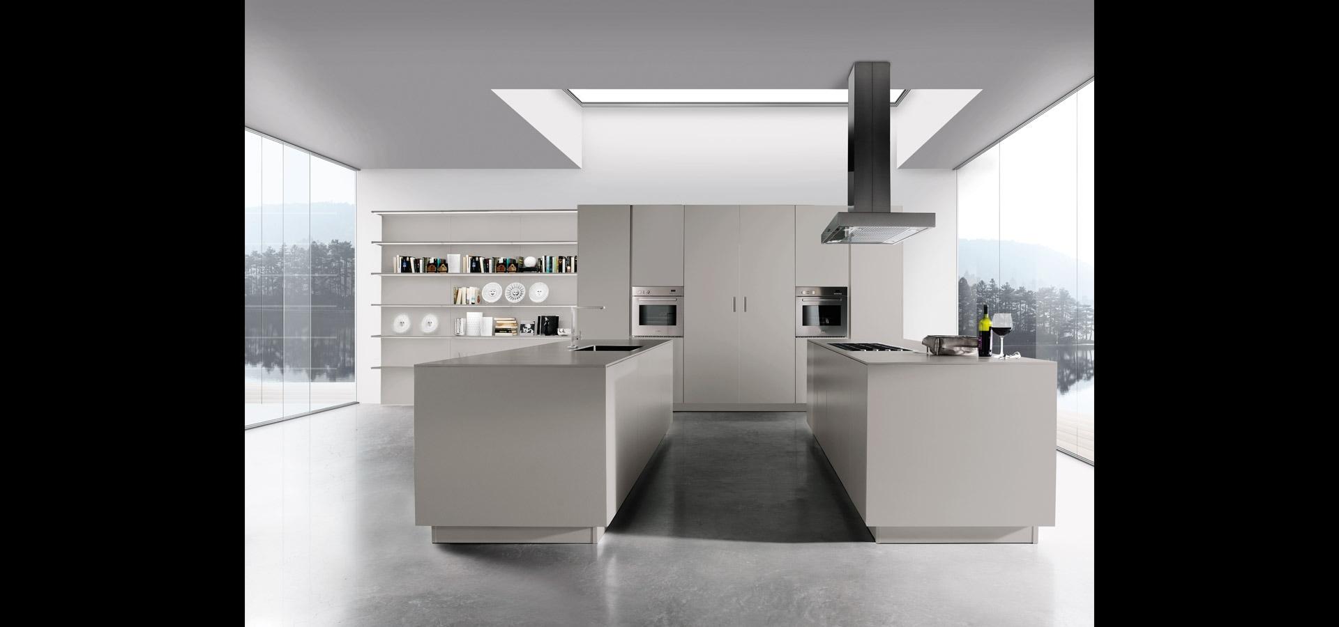 Cucina moderna essenziale | Sincro Matt | MITON Cucine