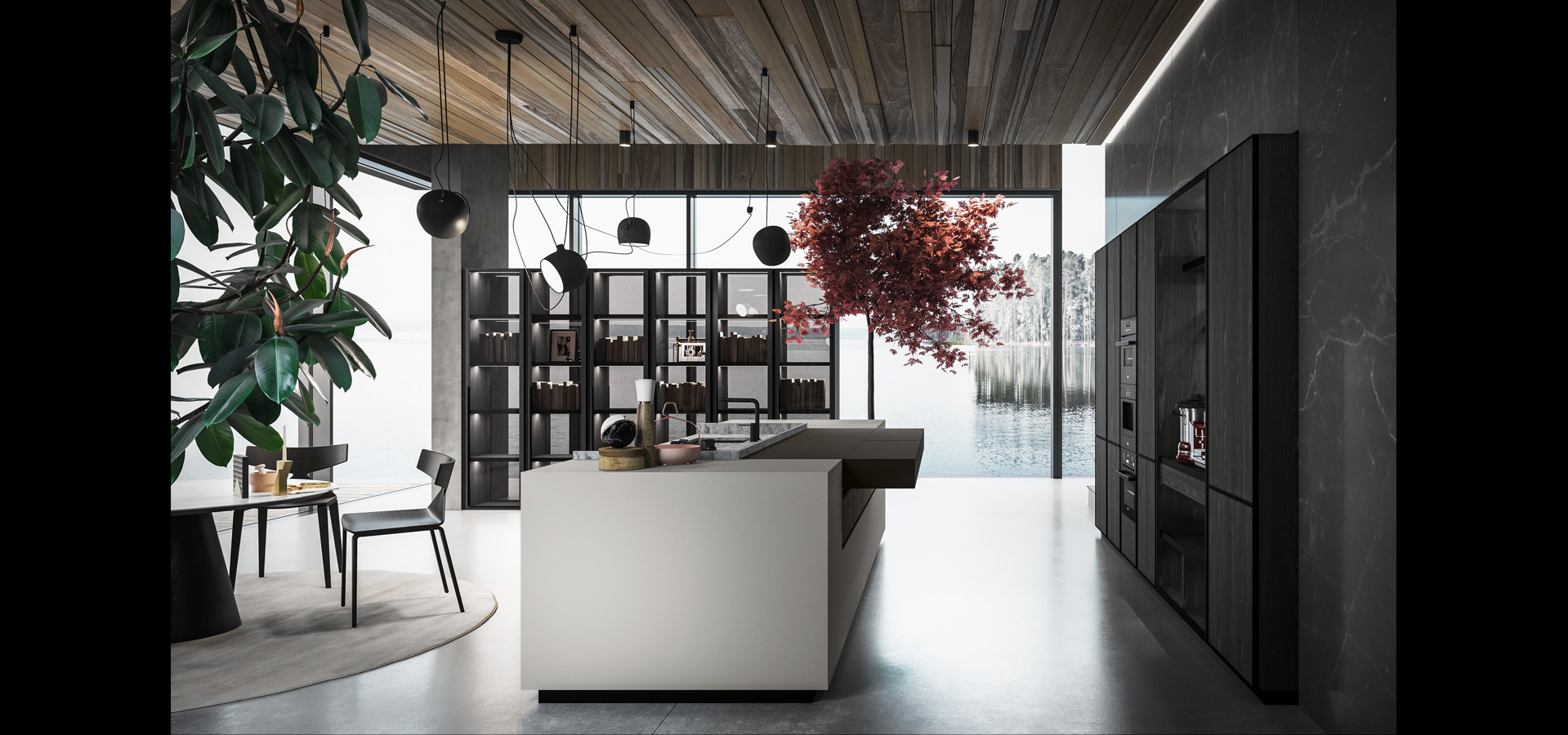 Cucina contemporanea rovere terranera | Amari | MITON Cucine