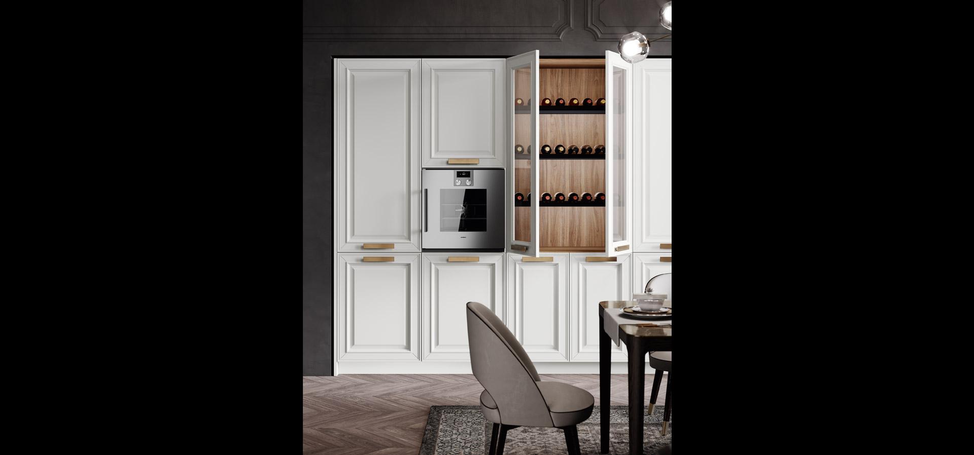 Cucina in stile neoclassico | Caviar | MITON Cucine