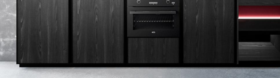 Cucina contemporanea rovere terranera | Anta Colonne Amari | MITON Cucine