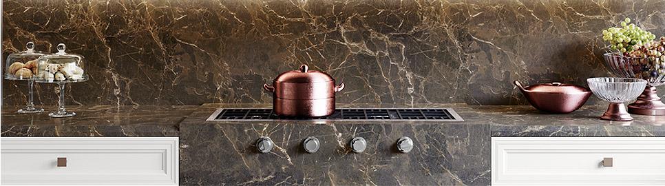 Cucina in stile neoclassico | Worktop - Caviar | MITON Cucine