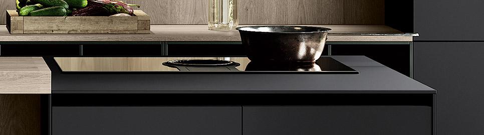 Cucina minimal in bilaminato legno rovere Nechinger | Worktop Tilo 2.0 | MITON Cucine