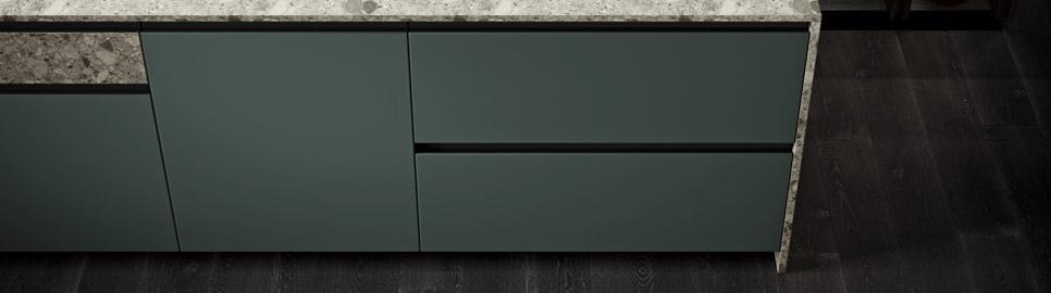 Cucina modulare elegante e funzionale | Ménta_02 - Anta Isola | MITON Cucine