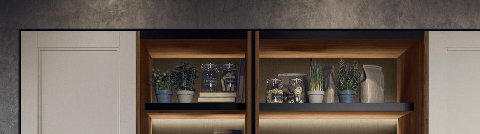Cucina moderna in stile industrial | Sistema Waind Talìa | MITON Cucine