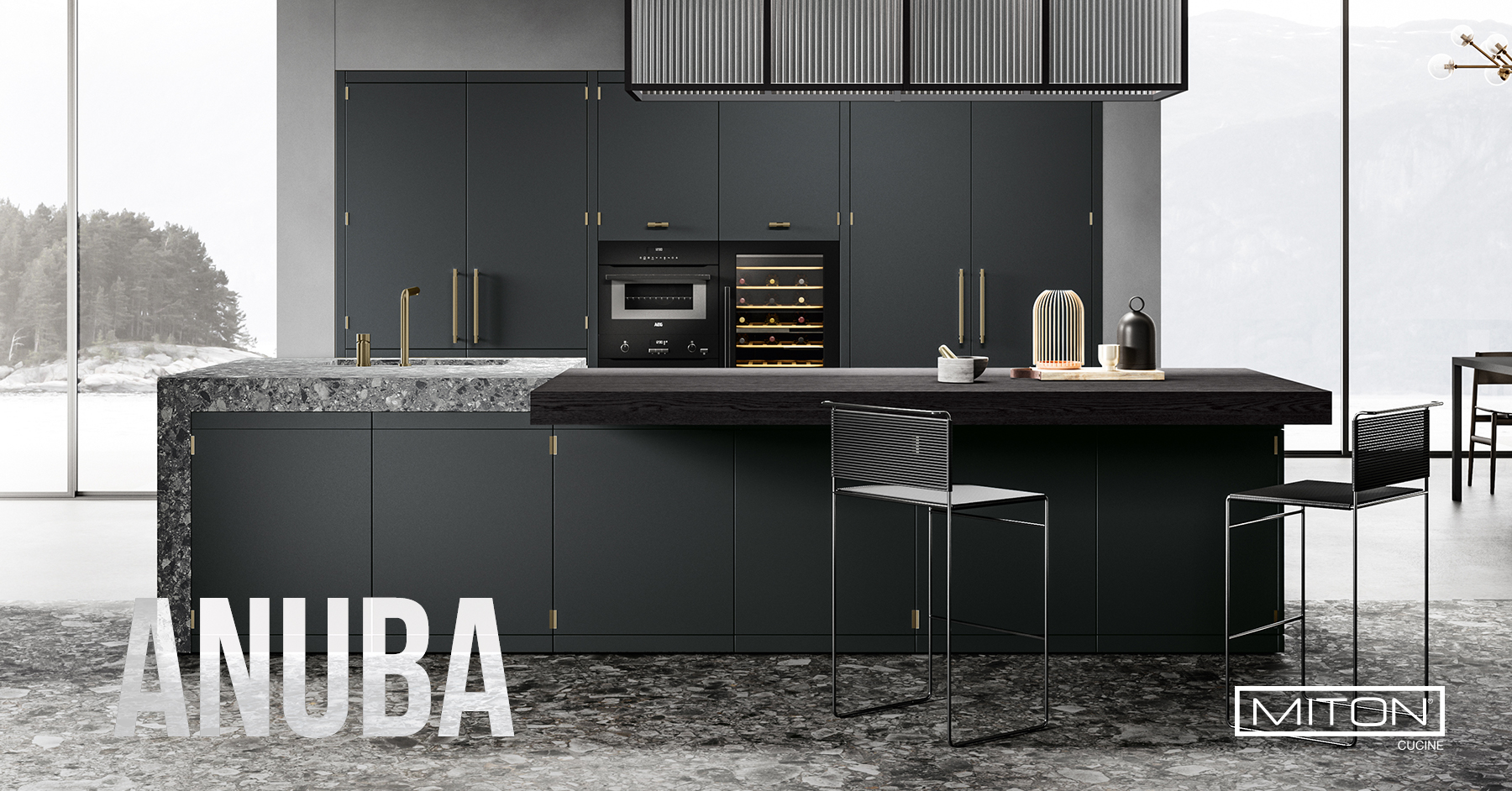 anuba miton cucine made in factory one